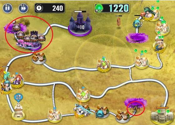 3-B攻略 中盤 クラゲ対策